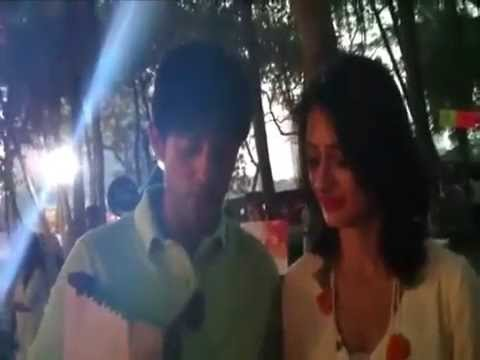 Gauri and Hiten Tejwani from Colours on fire exclusive for India TV Forum part 2
