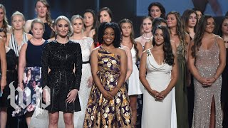 Larry Nassar survivors honored at 2018 ESPY Awards - WASHINGTONPOST