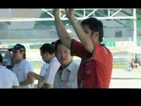 Porsche Carrera Cup Asia 2006 promotional video