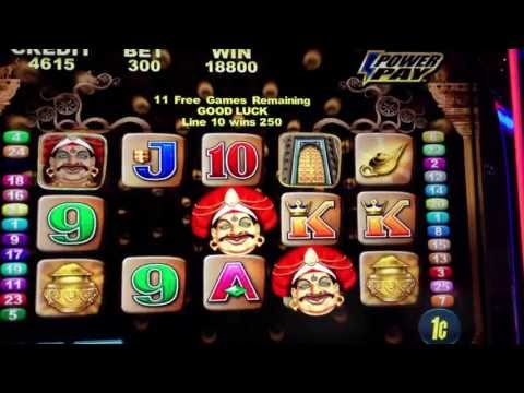 Magic Princess slot machine w/ retrigger bonus HUGE WIN on Aristocrat Penny Slots - REVEL AC