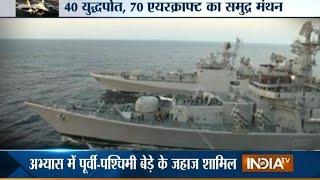 Indian Navy showcase their strength through Tropics 2015 - INDIATV
