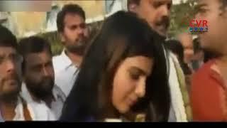 Actress Samantha Akkineni Visits Tirumala Tirupati  Temple | CVR NEWS - CVRNEWSOFFICIAL
