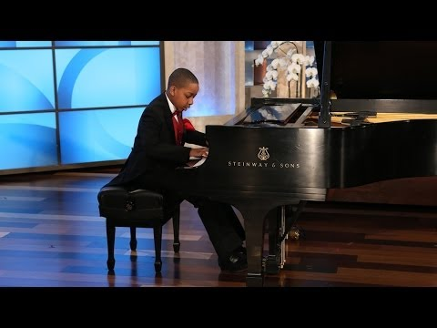 A Big Surprise for a Young Piano Prodigy
