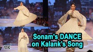 Sonam's DANCE on Kalank's 'Ghar More Pardesiya' will AMAZE You - IANSINDIA