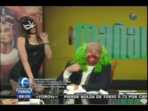 La Reata de Brozo con Vestido Negro 25Junio2012