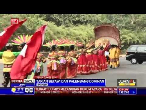 Penari Tradisional Indonesia Isi Acara Penutupan Asian Games