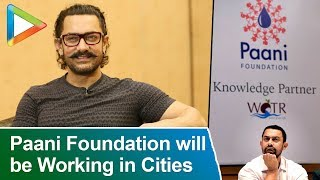 Aamir Khan CONFIRMS That Paani Foundation Will Also Be Working In Urban Cities | Symbiosis College - HUNGAMA