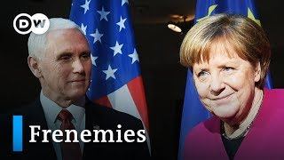 MSC 2019 Analysis: Merkel, Pence clash over Iran sanctions | DW News - DEUTSCHEWELLEENGLISH