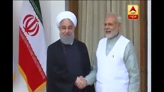 MoUs exchanged between India & Iran in the presence of PM Modi & President of Iran - ABPNEWSTV