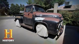Counting Cars: Kevin and Roli Find an Old 56 Ford F100 (Season 7, Episode 14) | History - HISTORYCHANNEL