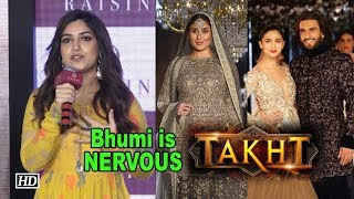 """Bhumi is so NERVOUS to work with Kareena, Ranveer in """"TAKHT"""" - BOLLYWOODCOUNTRY"""