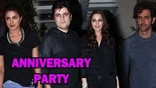 Bollywood Stars at Goldie Behl & Sonali Bendre's Anniversary Party - Bollywood News