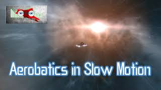 Royalty FreeBackground:Aerobatics in Slow Motion