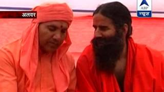 Sansani: Baba Ramdev caught on tape discussing black money exchange - ABPNEWSTV
