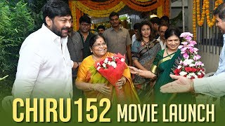 Megastar Chiranjeevi & Koratala Siva Movie Launch | Chiru 152 Movie Launch - TFPC
