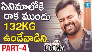 Sai Dharam Tej Exclusive Interview Part#4 || Dialogue With Prema | Celebration Of Life - IDREAMMOVIES