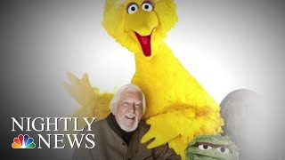 Big Bird Puppeteer Retiring After 50 Years | NBC Nightly News - NBCNEWS