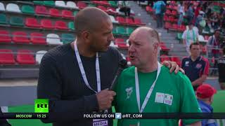 Stan Collymore attends Street Child World Cup (PROMO) - RUSSIATODAY