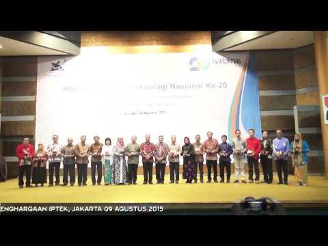 Hakteknas ke-20: Menristekdikti Anugerahkan 20 Penghargaan Iptek