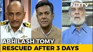 The Incredible Rescue Of Commander Abhilash Tomy - NDTV