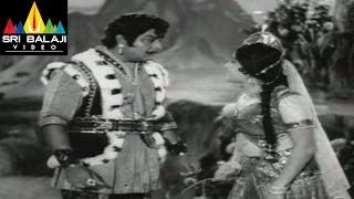 Alibaba 40 Dongalu Movie Jaya Lalitha and Satyanarayana Scene || NTR, Jaya Lalitha - SRIBALAJIMOVIES