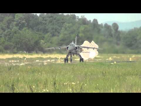 Serbian Air Force Ladjevci air base action (HD 1080p)