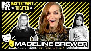 Madeline Brewer Nails Her Kristen Stewart & Ann Dowd Impressions! | Master Tweet Theater 🎭 - MTV