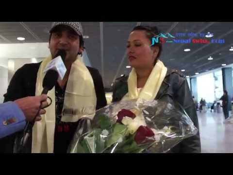 Ram Chandra Kafle and Junu Rijal in Switzerland