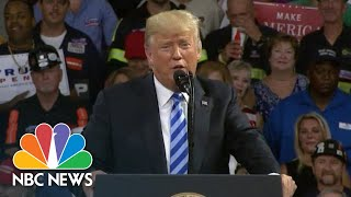 President Donald Trump: 'You Know They're Still Looking For Collusion' | NBC News - NBCNEWS