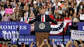 Trump holds a rally in Minnesota - WASHINGTONPOST