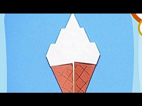 Çocuklar İçin Origami Ice Cream (Öğretici) – Kağıttan Arkadaşlar 15
