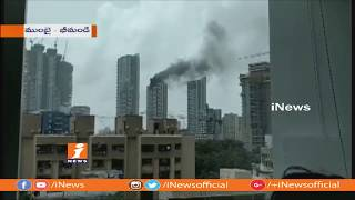 Massive Blaze Mishap At Worli High Rise Tower In Mumbai | 90 Peoples Saved By Rescue Team | iNews - INEWS