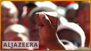 🇿🇦 South African workers strike over minimum wage | Al Jazeera English - ALJAZEERAENGLISH