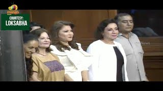 Grand Welcome To Mexican Parliamentarians Visit To Lok Sabha | Mango News - MANGONEWS