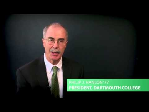 Moving Dartmouth Forward: President Phil Hanlon '77