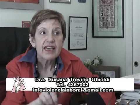 Enfermedades ocasionados por el trabajo.  Entrevista Susana Treviño Ghioldi.