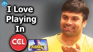 I Love Playing In CCL - Ashwin Babu    Jatha Kalise Movie    Talking Movies with iDream - IDREAMMOVIES