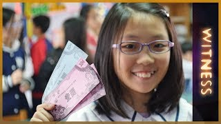 🇹🇼  Taiwan School Bank Experiment: Money Lessons for Life | Witness - ALJAZEERAENGLISH