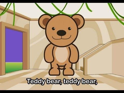 Muffin Songs – Teddy Bear  İngilizce Tekerlemeler ve İngilizce Çocuk Şarkılar