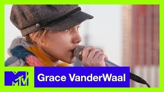 Grace VanderWaal Performs 'Darkness Keeps Chasing Me' (Live Acoustic) | #MTVXGRACE - MTV