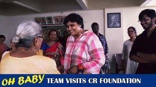Nandini Reddy & Teja Visits CR Foundation | Oh Baby | Samantha Akkineni - TFPC