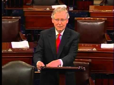 Sen. McConnell on Sequester - Part Two