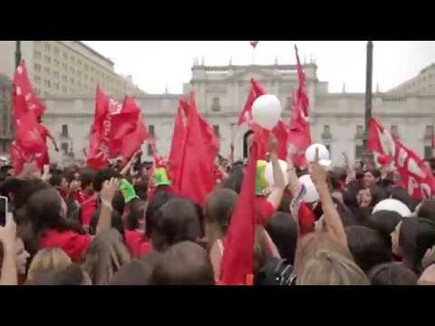 Siempre por la Vida - Manifestación en La Moneda