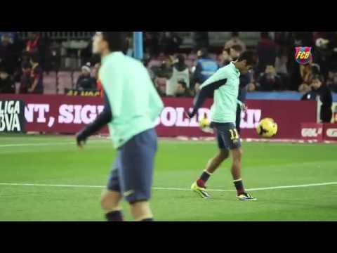 مهارة رائعة لنيمار في مداعبة الكرة