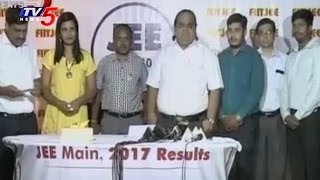 FITJEE Students Tops in JEE Mains | TV5 News - TV5NEWSCHANNEL