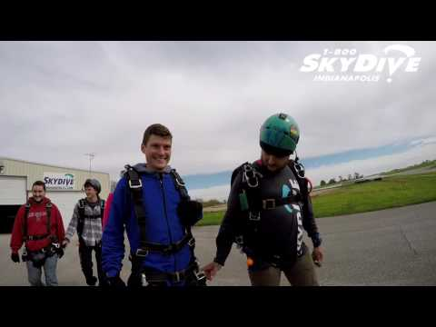 Chase Stanley's Tandem skydive!