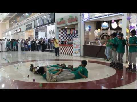عرض سعودي 911 في لوكلايزر مول لافتتاح The Shaky