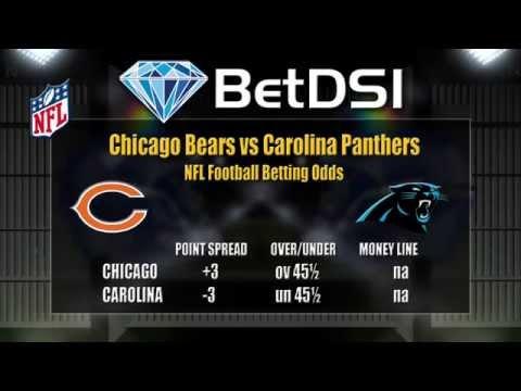 Chicago Bears vs Carolina Panthers Odds | NFL Picks