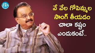 SP Balasubrahmanyam Favorite Song - Sagara Sangamam | Vishwanadh Amrutham - IDREAMMOVIES