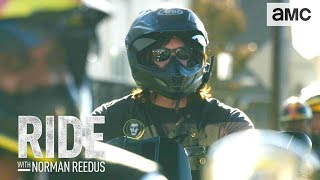 'Riding w/ Steven Yeun & the East Bay Dragons' Talked About Scene Ep. 302 | Ride with Norman Reedus - AMC